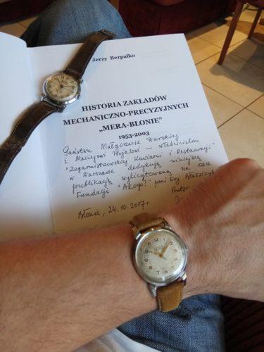 Przekazanie zegarków ufundowanych przez SPiRZ