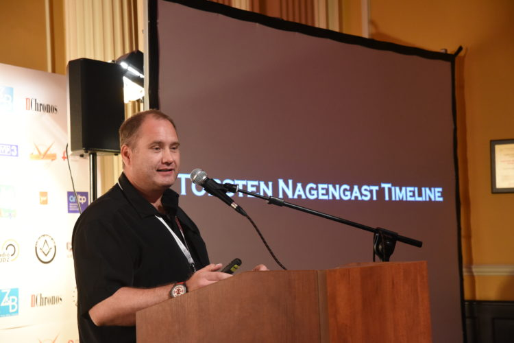 Torsten Nagengast Timeline na Festiwalu It's all about watches 2017