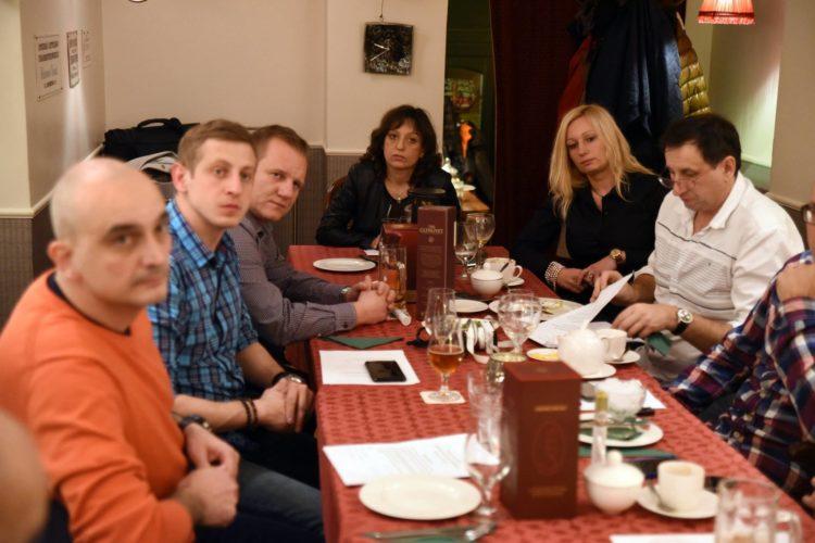 Spotkanie zarządu i członków SPiRZ