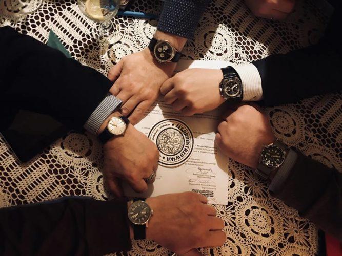 """Podpisanie umowy z grupą """"CZASOFILE"""""""