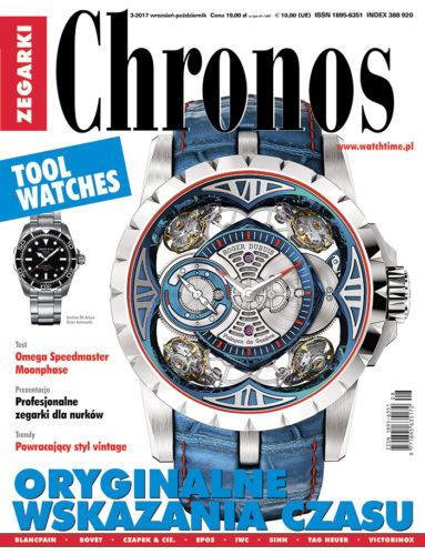 Magazyn CHRONOS i portal WATCHTIME.PL - oficjalni partnerzy SPIRZ