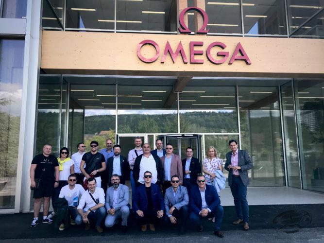 Wizyta w siedzibie marki OMEGA - Biel/Bienne, Villeret oraz Zurych.