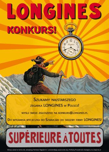 Poszukiwania najstarszego zegarka Longines.